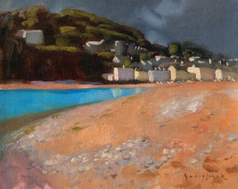 River Mouth, landscape oil painting, direct from artist
