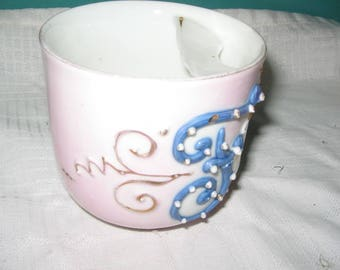 Vintage ceramic mustache cup