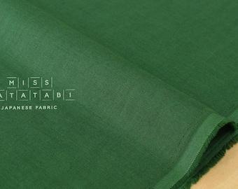 Japanese Fabric Kokka Oeko-Tex solid double gauze - colour 16 - 50cm