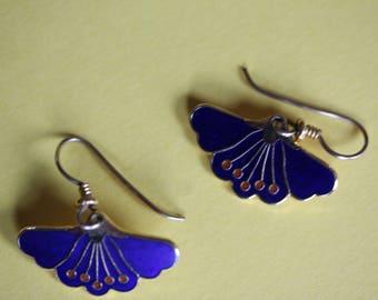 VINTAGE Laurel Burch pierced earrings