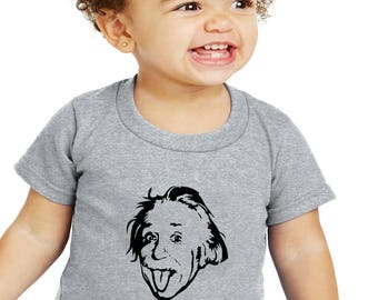Einstein Baby Genius Baby or Toddler T-Shirt