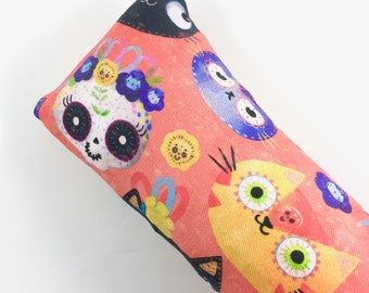 Day Of The Dead Cats Kick-It Organic Crinkle Catnip Cat Toy For Mew, Kicker, Gift For Cat Lover, Kicker