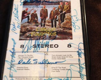 Autographed Foggy River Boys Concer Favorites -  8 Track Tape Free Shipping