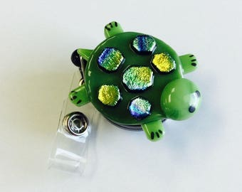 Retractable Badge Holder (Turtle)