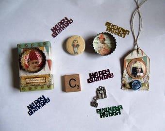Happy Birthday Celebration Matchbox with 5+ Goodies Inside/Decoration/Stocking Stuffer/Gift