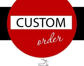 Custom Order Final Deposit for Kristina