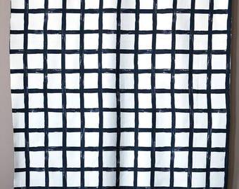 Checked - IKEA Dvargbjork Cotton Fabric
