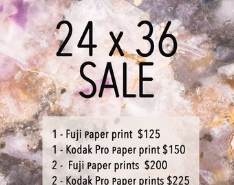 Sale Listing 24x36 -  At check out - Message me the three digit ID # of the photo you would like Printed!