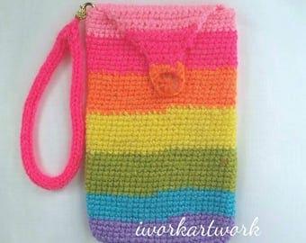 Rainbow Cellular Pouch