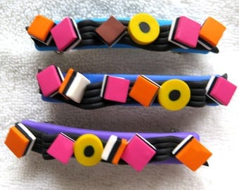 Licorice candy hairclip