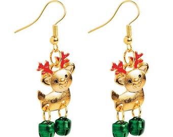 Cute Reindeer Earrings