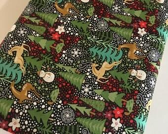 Christmas fabric | Etsy