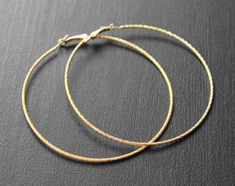 Big Gold Hoops, Big Hoops, Large Hoop Earrings, Electroplated, Jumbo Hoop Earrings, Hoop Earrings, Ayo African Woman Big Hoop Earrings
