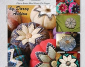Pattern -- Pincushion Sewing Pattern -- Make Your Own Pincushion -- Easy Instructions -- Wool, Denim, Cotton -- Four Different Sizes