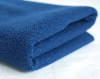 100% Pure Wool Felt Fabric - 1mm Thick - Made in Western Europe - Navy Blue