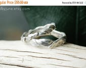 40% Off Silver Small Leaf Ring | Stacking Ring | Nature Inspired Ring