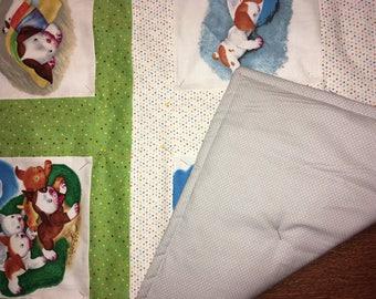 Trim for pokey little puppy quilt