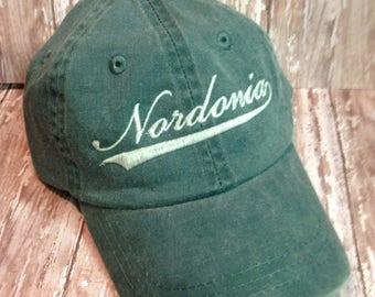Washed Twill 100% cotton - Youth Custom Personalized Baseball Hat Cap - Totally CUSTOM - washed finish