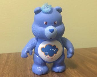 Grumpy Care Bear Figure Blue Doll Toy LIKE NEW CONDITION