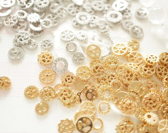 40 pcs Resin inclusions / inserts / supplies  (5-8mm) Teeny Watch Parts AA059