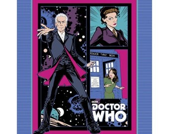 Dr. Who NoSew Fleece Blanket