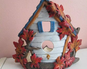 50% Off Maple Leaf Birdhouse