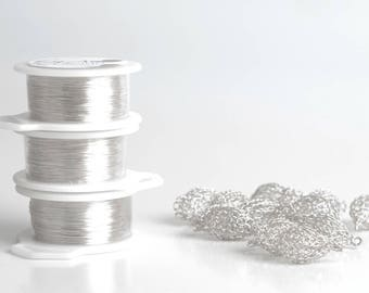 Silver wire, Silver plated wire