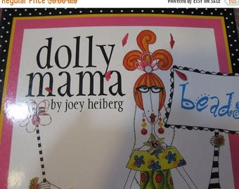 CLEARANCE Dolly Mama Beads by Joey Heiberg Fun Book with Beading Projects