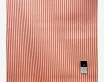 ON SALE Dena Designs LIDF006 Sunshine Stripe Orange Linen Fabric 1 Yd