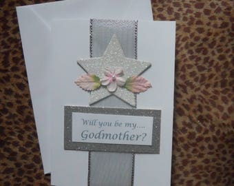 Will You Be My Godmother? Card with Poem