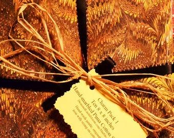CharmPack****Hand-Marbled Pima Cotton