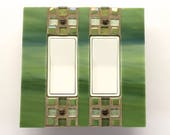 Decorative Switch Plates, Outlet Cover Switch Plate, Switch Plate Covers, Mosaic Switch Plate, Stained Glass Mosaic, Light Switch Cover 8682