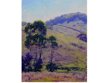 Landscape Painting, oil painting, Australian painting, impressionist painting, plein air  by  Graham Gercken