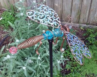 Yard Art - Goofy Dragonfly