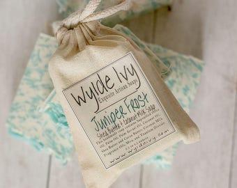 Juniper Frost Handmade Cold Process Soap