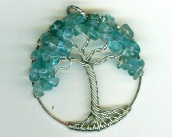 Apatite Tree of Life pendant