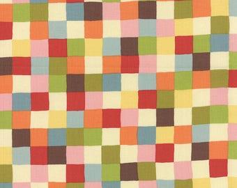 Avant Garden Creamsicle Pixel Picnic   Momo Moda Quilting fabric 16124 11