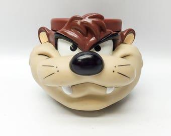 Vintage Tasmanian Devil kid's mug - 1992