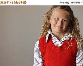 ANNIVERSARY SALE 1970s Classic Stripe Blouse >>> Kids Size 8/10