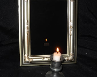 Scrying Mirror Made on the Full Strawberry Moon in Sagittarius June 2017