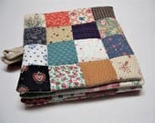 Scrappy Patchwork Pot Holders, Insulated Potholders, Quilted Potholders, Trivets, Hot Pads