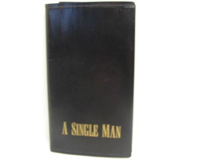 Vintage Elton John Promo Black Book, A Single Man, MCA Records Promotional Record Dealer Give Away, 1978 Advertising
