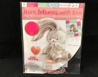 From Bebunni With Love Cross Stitch Card Kit