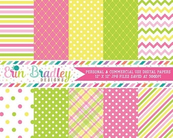 80% OFF SALE Digital Paper Pack Personal and Commercial Use Summertime Fun