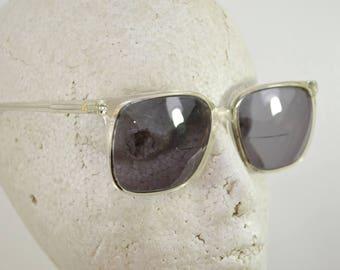 last chance Vintage Women's Prescription Sunglasses Frames Liz Claiborne with Case Clear