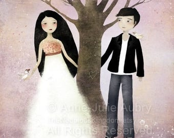 10% Off - Summer SALE The Tree of Love - Deluxe Edition Print