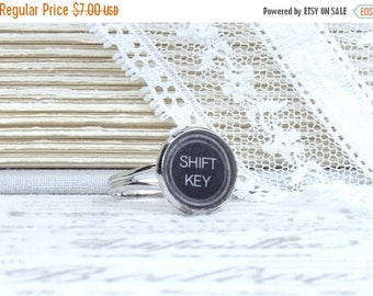 Shift Key Ring Writer Gift Typewriter Key Ring Shift Key Jewelry Author Gift Typewriter Key Jewelry
