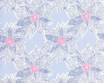 Blue Voyage Fabric - 27284 14 - Kate Spain - Moda
