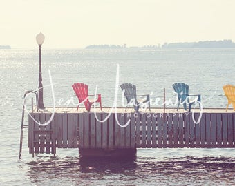 Sittin' By The Dock of the Bay Landscape Photography Print
