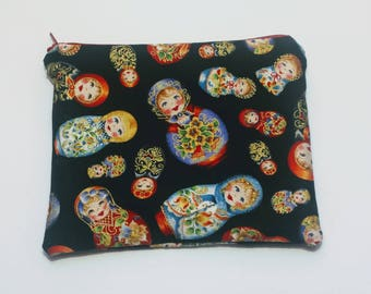 Russian Doll Zip Pouch